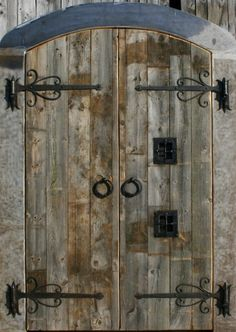 Custom Arched Castle Doors by Nopu0027s Metalworks- I would put these in every doorway in & Castle Door - Medieval Castle - CED422 | Doors u0026 their Hardware ...