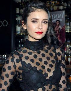 Nina Dobrev at annual powee list dinner