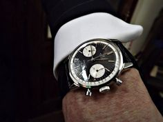watchanish: Vintage James Bond tailor Anthony Sinclair's Breitling Top Time