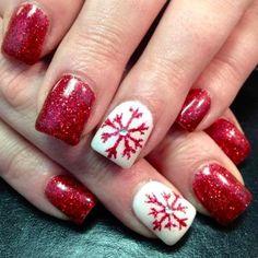 DIY Christmas Nail Art - 50 Christmas Nail Designs You Can Do Yourself! - Best Nail Art
