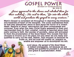 Lord Jesus, the spread of the Good News is indeed unstoppable...
