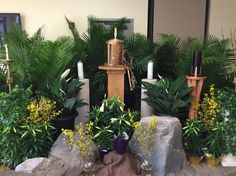 altar of repose decorations | Catholic churches, Altars and Catholic on Pinterest