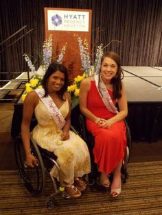 Maggie Redden at the Miss Wheelchair America Pageant