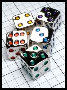 Dice Collection | A little Gen Con Find by Koplow…very photogenic. ...
