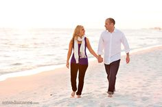 I found us on Pinterest! A shot from our engagement session in Destin, FL. Photo credit: Amanda Suanne Photography