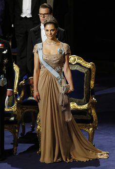 Princess Victoria - Nobel Prize Award Ceremony 2010