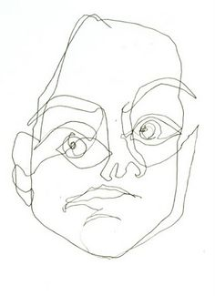 Blind Contour Portrait