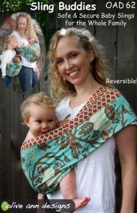 Reversible baby slings for Moms & Dads plus a babydoll sling for toddlers. Create the perfect parenting accessory to allow hands-free baby bonding..