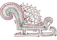 Crochet Applique Patterns - Her Crochet Crochet Christmas Decorations, Crochet Ornaments, Christmas Crochet Patterns, Holiday Crochet, Crochet Snowflakes, Crochet Stitches Patterns, Applique Patterns, Thread Crochet, Christmas Crafts