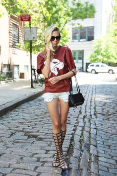Just Smile With Style: S/S 2015 Trend: Gladiator Sandals