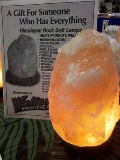 How Does A Himalayan Salt Lamp Work Alluring Chelsea Covington Order One For Your Desk At Work Too  Energy Design Ideas