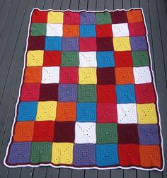 Ravelry: jackson89's Solid Granny Square Blanket #2