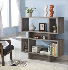 Dark Taupe Finish Wood Cube Bookcase Bookshelf Display Cabinet eHomeProducts http://www.amazon.com/dp/B012CEQU50/ref=cm_sw_r_pi_dp_mPBewb08KSF47