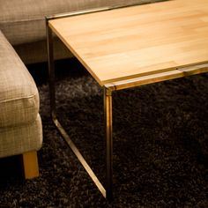 Steel and beech coffee table Decor, Furniture, Side Table, Table, Home Decor, Steel, Beech Coffee Table, Coffee Table