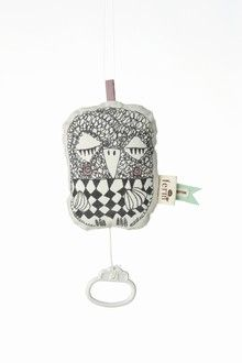 baby will love this creepy owl