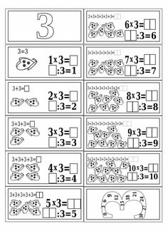 Mnozenje i dijeljenje do 100 Mental Maths Worksheets, Math Activities, Teaching Multiplication, Teaching Math, 1st Grade Math, Math Class, Aperol, Math Sheets, Daily Math