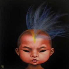 Paintings by Poh Ling Yeow, a Malaysian-born Australian artist, actress and runner-up in MasterChef Australia. Art Cart, Call Art, Weird Pictures, Pop Surrealism, Modern Artists, Australian Artists, Love Art, Art Forms, Art Inspo