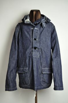THE REAL McCOY'S WEB CATALOG/商品詳細 U.S. NAVY DENIM PARKA