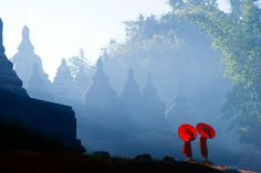 Beauty of Mrauk Oo by Kyaw Kyaw Winn. Two Burmese novices from Mrauk Oo, an…