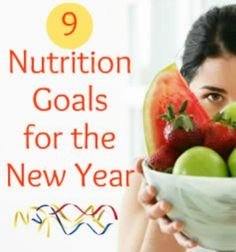 9 Nutrition Goals You Should Make This Year | via @SparkPeople #food #diet #health #resolution