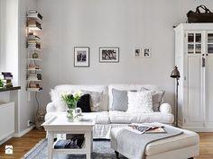 Zdjęcie: Salon styl Skandynawski - Salon - Styl Skandynawski - Casa Bianca