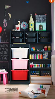 IKEA storage for toys