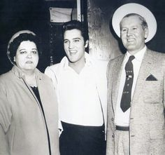 Gladys, Elvis, and Vernon