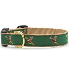 Pheasants Dog Collar