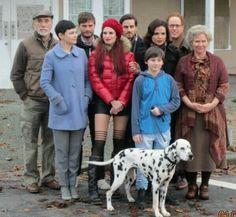The awesome cast of Once S2 or S3 #Once #BTS #Steveston #Richmond Vancouver BC