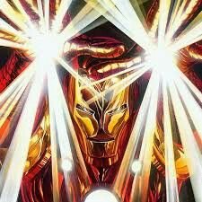 Incredible art of Iron Man by Alex Ross