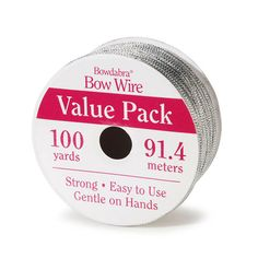 Bowdabra® Bow Wire Value Pack – Silver – 100 yards – BOW3060