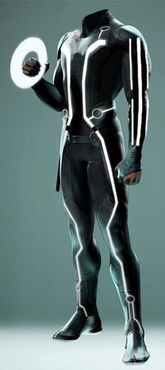 tron costume image. How to make a TRON Costume, would love to do this for Halloween on year
