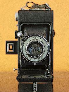 So good they made it twice! Here's the vest pocket Kodak No. 2. http://toula-mavridou-messer.artistwebsites.com/featured/new-photographic-art-print-for-sale-vintage-vest-pocket-kodak-number-two-camera-toula-mavridou-messer.html