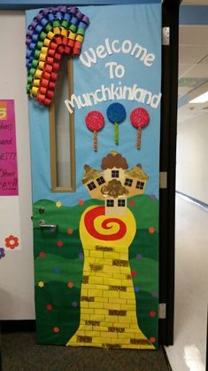My Wizard of Oz themed door