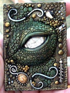 WOW!!! Dragon's Eye polymer clay by MandarinMoon.deviantart.com