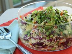 Ty's Thai Salad   Lynn Nye made this for Graceful Dinner