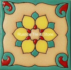 Malibu Field Tile - Ceramic Field Tile - Decorative Talavera