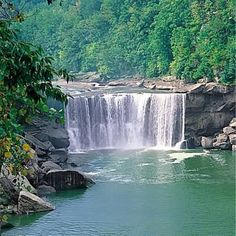 Cumberland Falls... a yearly vacation,,,road trip and the site where Tom and I spent our honeymoon December 31, 1959
