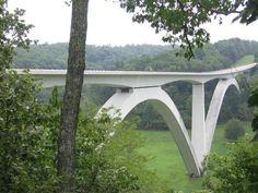 Natchez Trace Bridge, Franklin, Tennessee