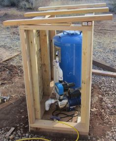 Well pump cover | House Ideas in 2019 | Pinterest | Pump ... on Outdoor Water Softener Enclosure  id=82900