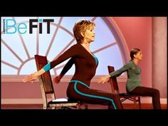 Yoga Stretching & Mobility Workout: PM- Jane Fonda is a calming, 10 minute evening Yoga series that is designed to open the chest and rib cage, restore mobil. Yoga Videos, Workout Videos, Exercise Videos, Workouts, Jane Fonda Workout, Yoga Abs, Stress, Celebrity Workout, Low Impact Workout