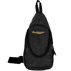The Stooges Band Gold Logo Canvas Crossbody Chest Bag ** More details can be found by clicking on the image. #BackpacksandBags