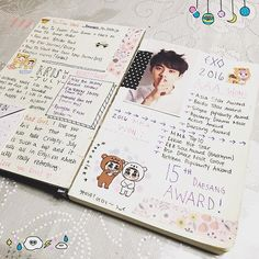 cute kpop/exo journal #exo #kpop #journal #diary