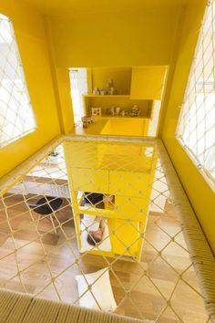 indoor spielplatz für sich und seine bruder haben - herrlich   bed ... - Indoor Spielplatz Zuhause Design