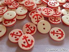Kit 12 botões Marinheiro