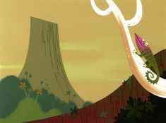 heyoscarwilde: Theoriginalbackground artwork... - samurai Jack
