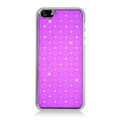 MetroPhones.co Iphone 5 CHROME Spot Diamond Case, Hot Pink: Cell Phones & Accessories