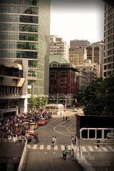 Vancouver Vancouver, Times Square, Street View, Urban, Travel, Voyage, Viajes, Traveling, Trips