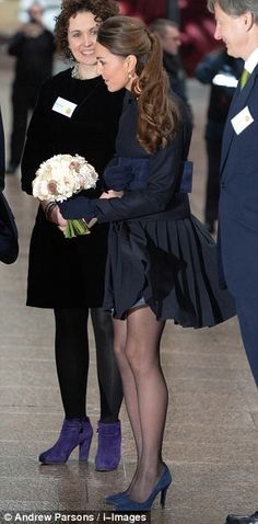 November 20, 2013 - The Duchess of Cambridge arriving at a forum for the charity Place2Be on Wednesday