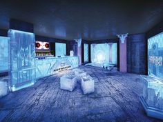 Norwegian Getaway...they have an Ice Bar, they give you big coats! Loved the one on the Epic!